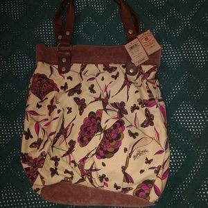 Lucky Brand Bags - Lucky Brand, Tripping Out Tote Butterfly